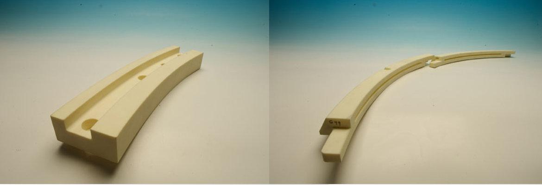 Garnituri segmentate pentru ax